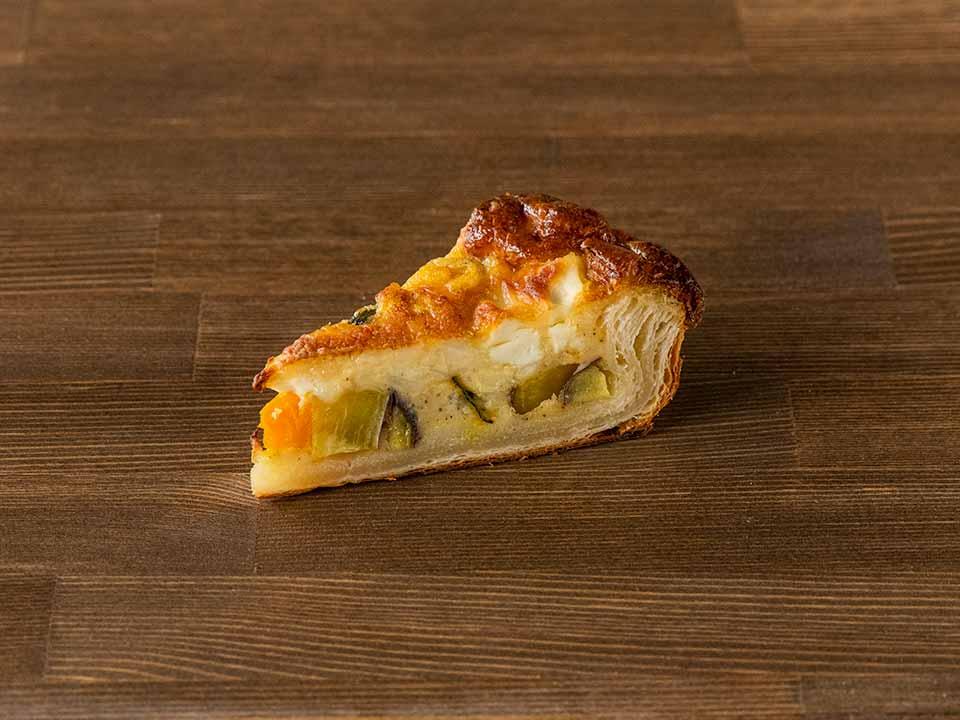 秋のキッシュ<カボチャ、さつまいも、クリームチーズ>