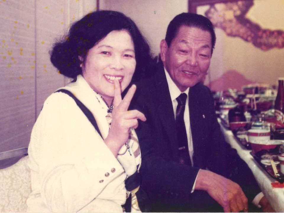 父と母の写真